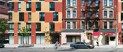 RKTB Architects has developed a prototype infill template for efficient construction of housing throughout New York City.