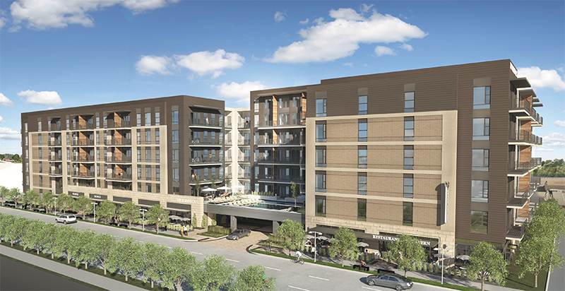 Trammell Crow brings development to Knox Heights, one of Dallas's most popular neighborhoods.