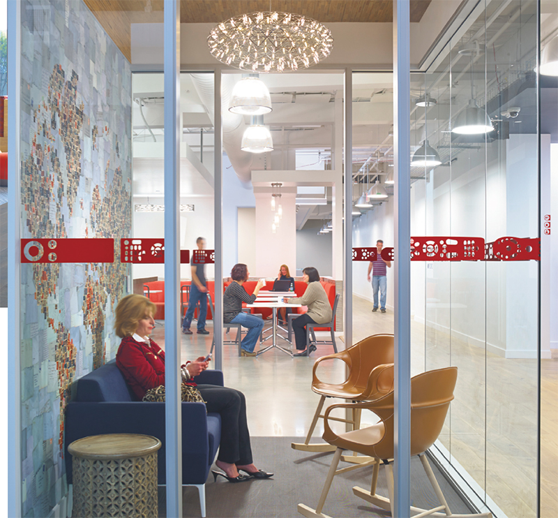 AP+I Design is delivering an increasing number of designs meant to delight clients' employees.
