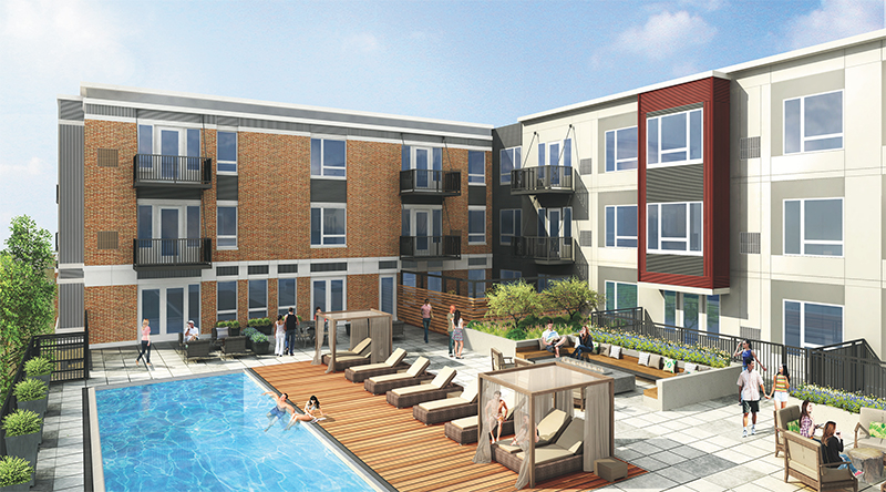 Trammell Crow Co. is delivering the most luxurious multifamily project in the Chicago suburbs.