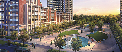 Times Group Corp. is elevating the economic viability of Markham, Ontario, with River Walk East.