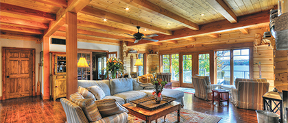 Over the past 30 years, True North Log Homes has taken the rustic log home from antiquated to efficient.