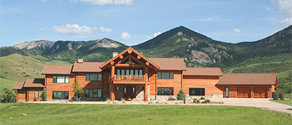 Cosner Constr uction Co. has become a mainstay for those who call the wild Wyoming countryside home.